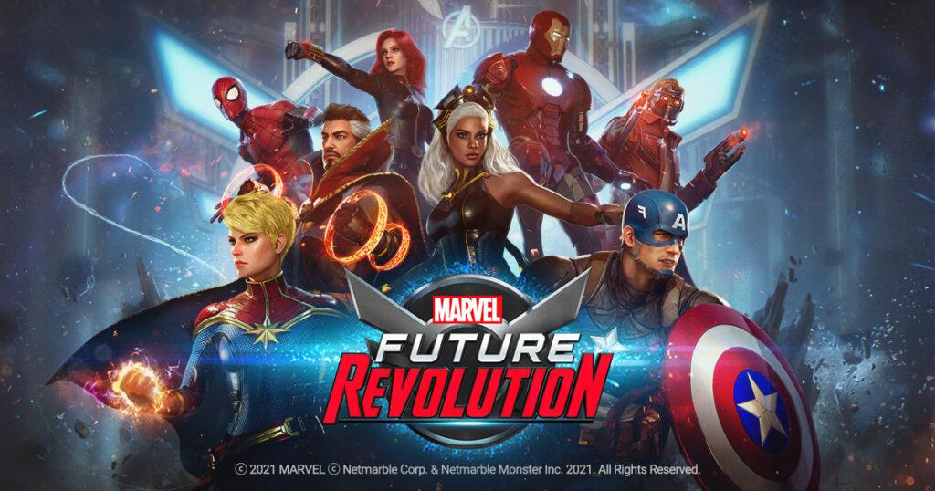 MARVEL Future Revolution เปิดลงทะเบียนล่วงหน้าพร้อมกันทั่วโลกแล้ววันนี้!