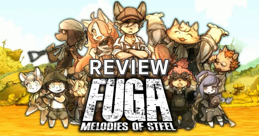 รีวิวเกม Fuga Melodies of Steel รถถังน้องแมวประจัญบาน