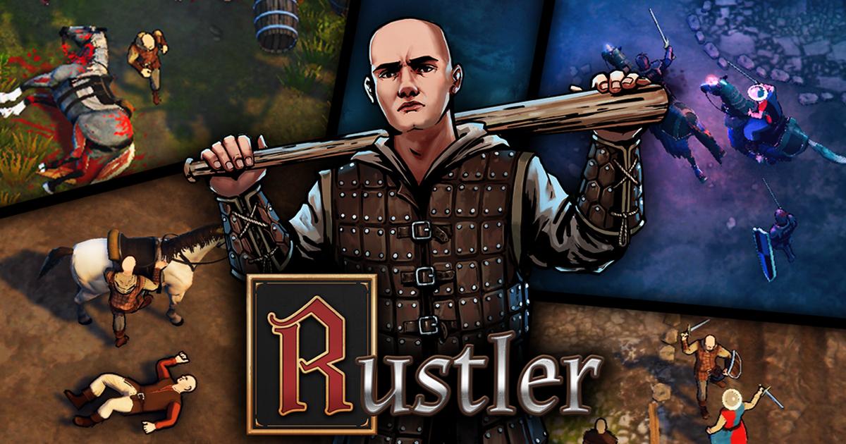 รีวิว Rustler เกมแนว GTA 2 มิติฉบับย้อนไปสู่ยุคกลาง