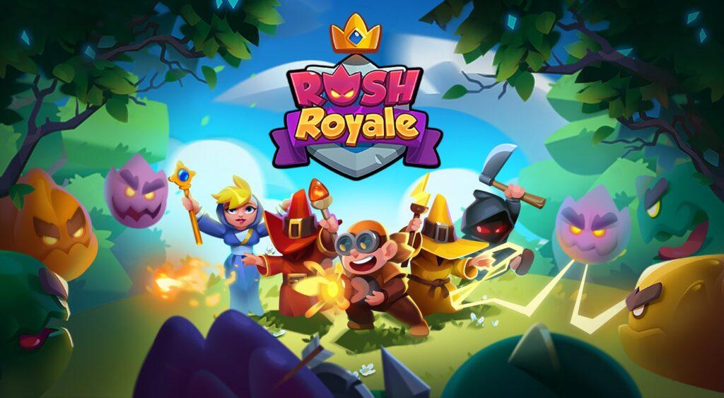 รีวิวเกม Rush Royale เกมแนวสุดแหวก ที่ต้องอาศัยดวงในการเล่น